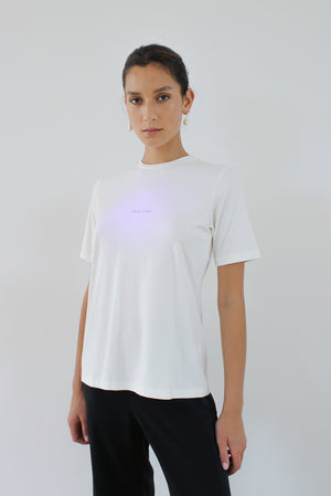 Solar Powered T-shirt - Cloud