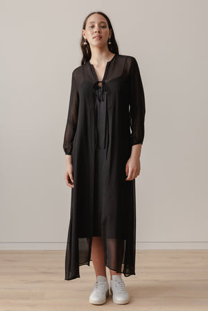 Plankton Gown - Black