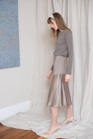 Moray Skirt - Mousse