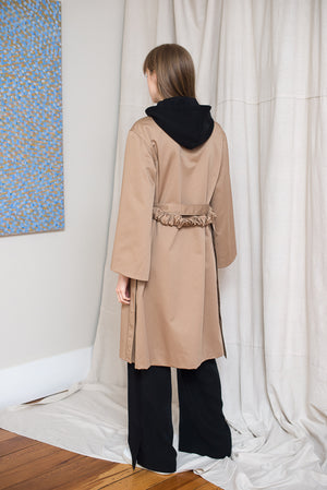 Reefs Trench Coat - Tan