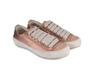 Parson Satin Sneakers Bisque