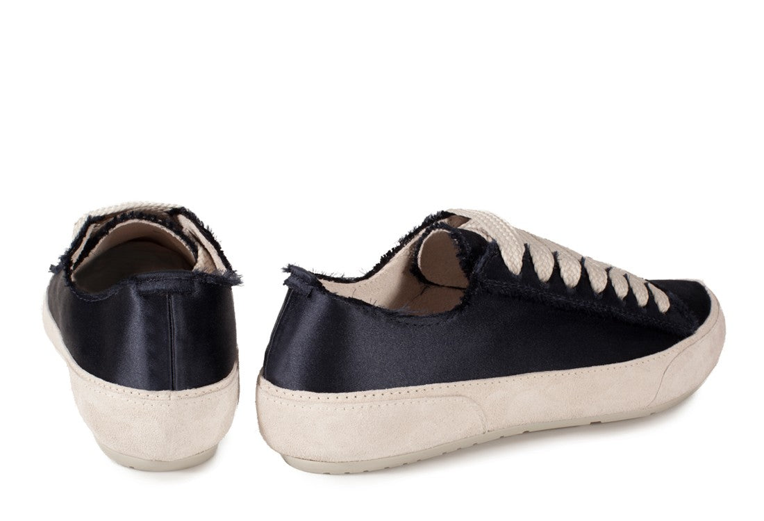 Parson Satin Sneakers Black