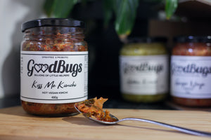 Two Outstanding Food Producer, Award Winning Kimchi from GoodBugs
