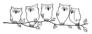 Owls Wall Art-fliphome.com.au