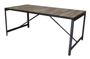 FACTORY DINING TABLE-fliphome.com.au