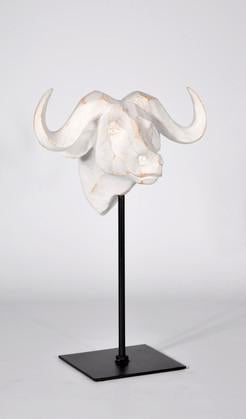 Water Buffalo Head On Stand-fliphome.com.au