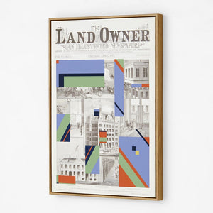 Land Owner Newsprint