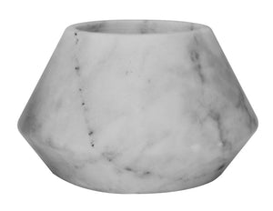 Elementer Trap Marble Tealight Holder - Black