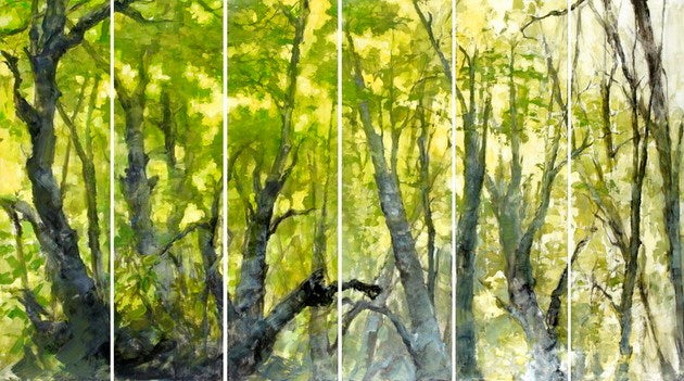 Spring Forest Set of 6