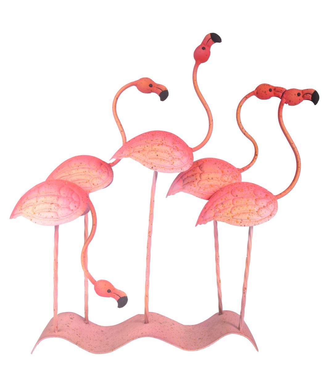 Flamingos On Base-fliphome.com.au