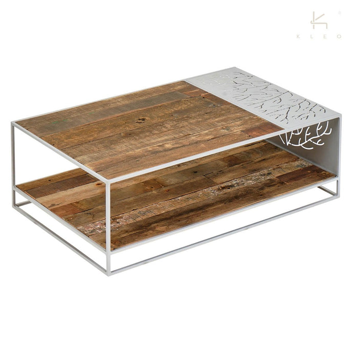 CORAL RECTANGLE COFFEE TABLE WHITE-fliphome.com.au