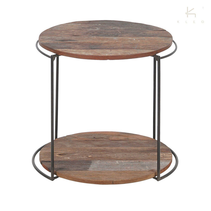 DISCREET 2TIER SIDE TABLE-fliphome.com.au