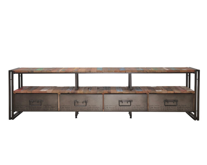 EDITO TV UNIT 4 DRAWER-fliphome.com.au