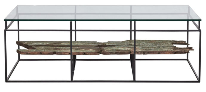 LOOK SALVAGE COFFEE TABLE-fliphome.com.au
