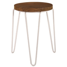 Load image into Gallery viewer, Tripod Stool White