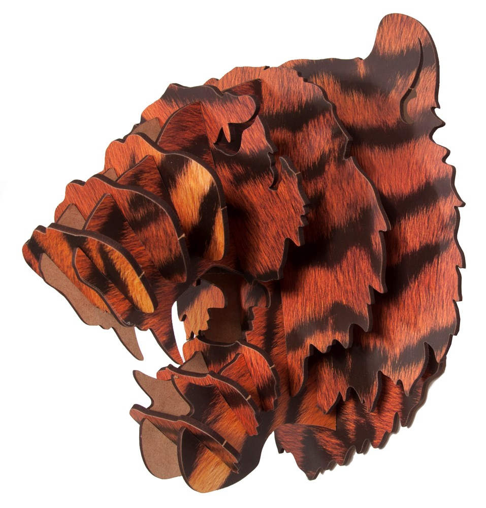 Wall Mounted Puzzle - Tiger