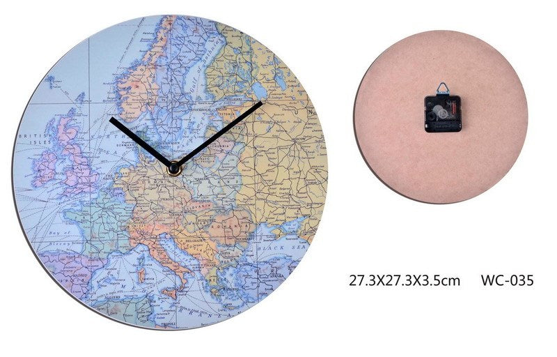 Contemporary Around the World Clock