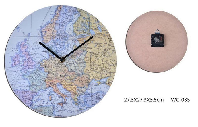 Around The World Clock-fliphome.com.au