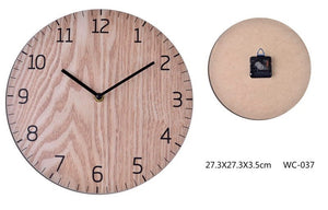 Contemporary Plywood Face Clock