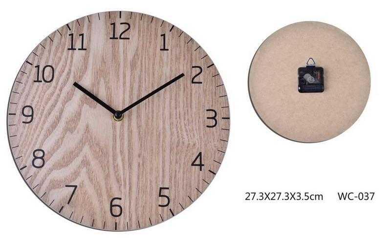 Plywood Face Clock-fliphome.com.au
