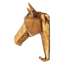 Load image into Gallery viewer, Tribal Geometric Horse Head Wall Hook