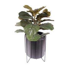 Load image into Gallery viewer, Contemporary Metal Planter