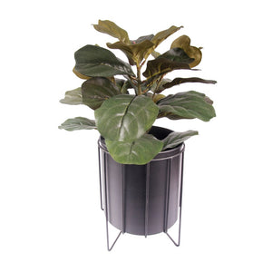 Contemporary Metal Planter
