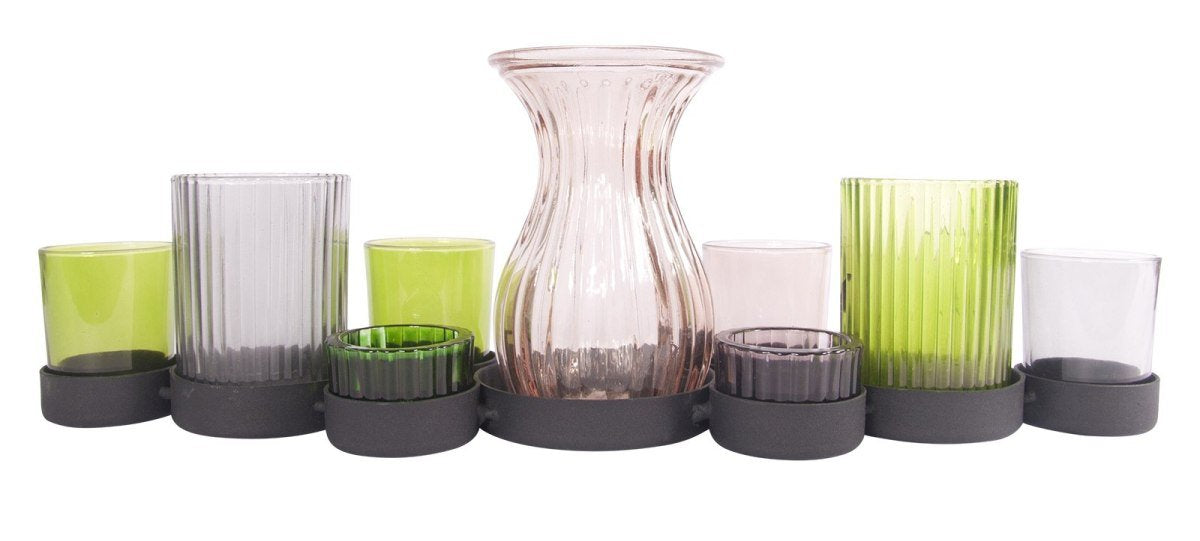Contemporary Candle Holders Set Of 9-fliphome.com.au