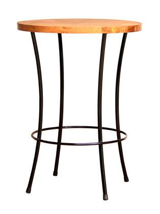 Ironworx Bar Table Black-fliphome.com.au