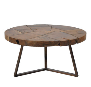 Flutted Coffee Table Lge-fliphome.com.au