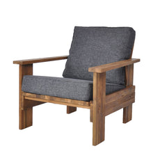 Load image into Gallery viewer, Leiko Armchair Black-fliphome.com.au