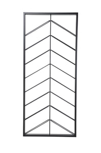 Chevron Wine Rack - Iron-fliphome.com.au