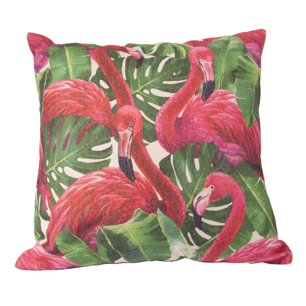 Flamingo Jungle Cushion Cover-fliphome.com.au