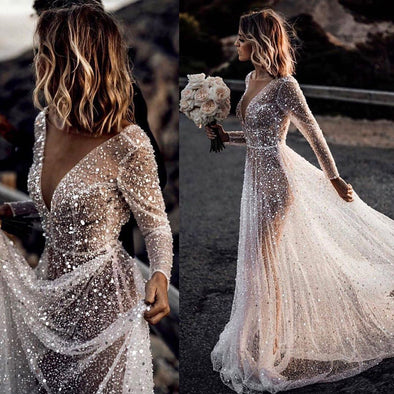 2020 Best Beautiful Lace Expensive Wedding Dresses