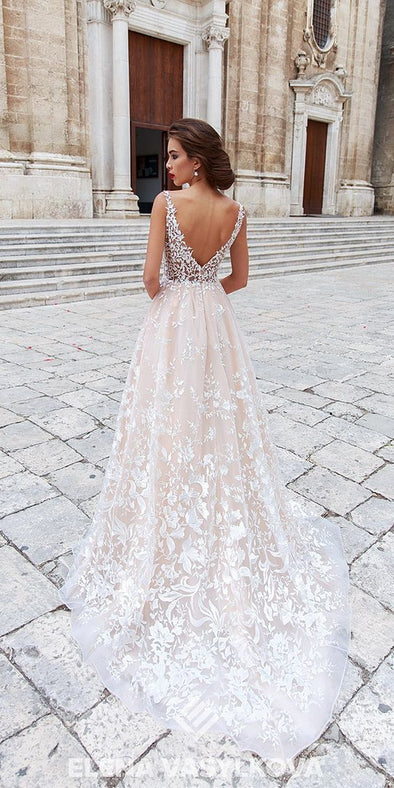2020 Best Beautiful Lace Cheap Wedding Dresses Under 50 Dollars