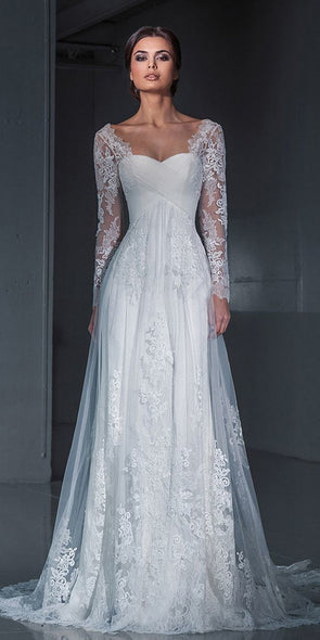 2020 Best Beautiful Lace 2 In 1 Wedding Dress