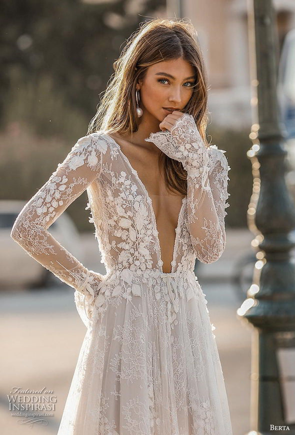 2020 Best Beautiful Lace Bridal Dresses Near Me