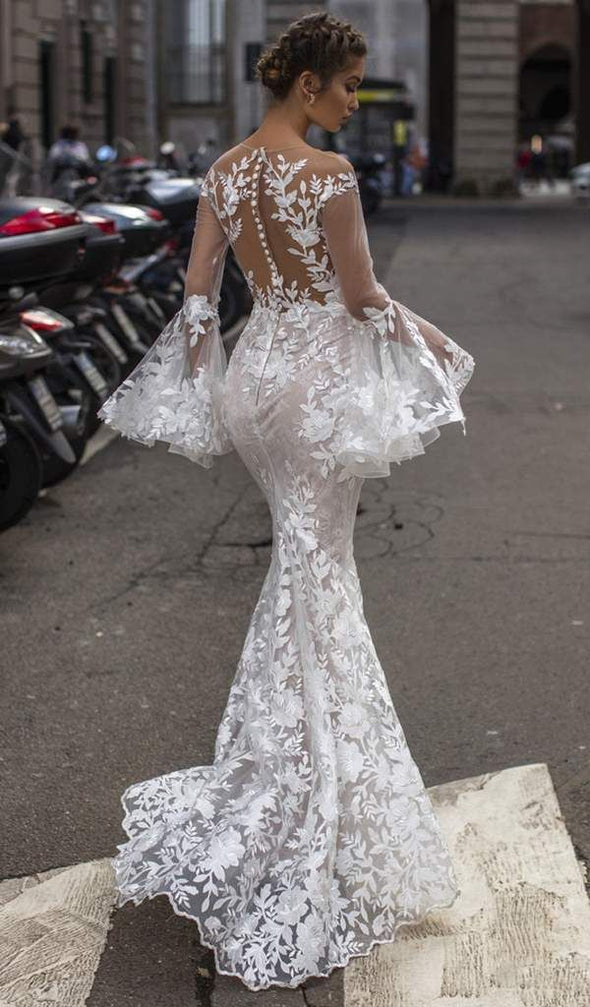 2020 Best Beautiful Lace Asian Wedding Dresses