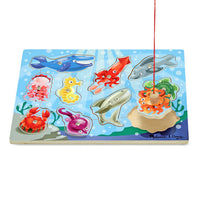 Melissa & Doug Fishing Magnetic Puzzle Game, DG 3778