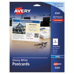Glossy Post Cards  AVE 8383