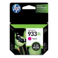 HP 933 XL, High Yield Magenta Original Ink Cartridge (CN055AN)