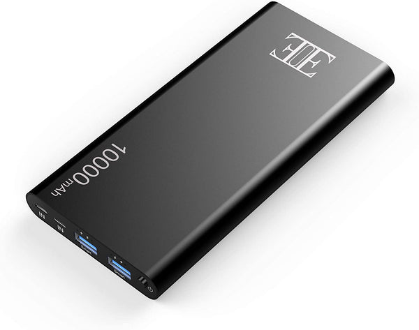 EUI external battery black, 10,000 mAh