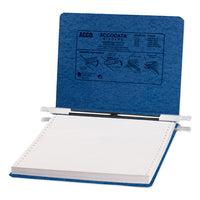 "ACCOPRESSTEX Covers with Storage Hooks, 2 Posts, 6"" Capacity, 9.5 x 11, Dark Blue  ACC54113"