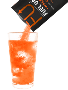 WAKE Plus: Orange Sherbet - 30 servings.