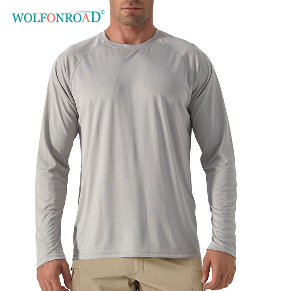 Outdoor Anti-UV Quick Dry Men's  Long Sleeve T-Shirts