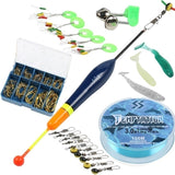Sougayilang  Fishing Rod Full Kits Telescopic Fishing  Rod and Spinning Reel