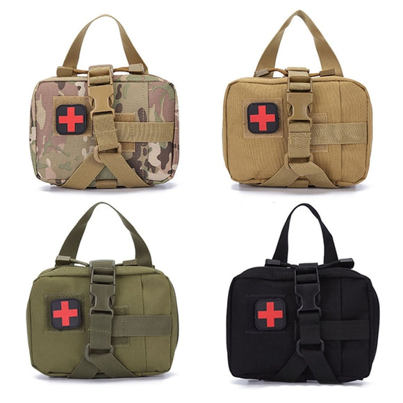 Outdoor Camping Bag First Aid Kit Tactical Medical Bag