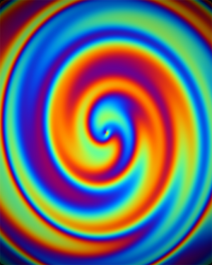 Rainbow Swirly