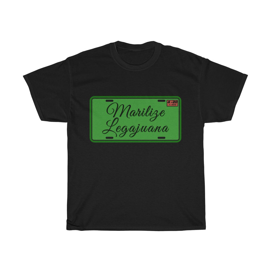 License to Marilize Legajuana Legalize Marijuana Cannabis T-Shirt