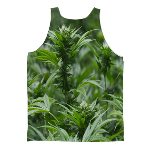 All over print cannabis bud weed Classic Sublimation Adult Tank Top